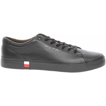 Shoes Men Low top trainers Tommy Hilfiger FM0FM03727BDS Black