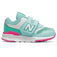 Shoes Girl Trainers New Balance Chaussures bébé  iz997h blue chill/pink glo