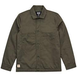 Clothing Men Jackets Globe Coupe vent  Refuse Chore vert forêt