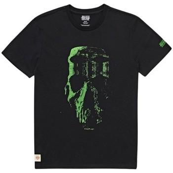 Clothing Men Short-sleeved t-shirts Globe T-shirt  Refuse Skull noir