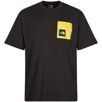 Clothing Men Short-sleeved t-shirts The North Face Search & Rescue Pocket T-shirt -  Black / Yellow