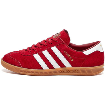 Shoes Men Low top trainers adidas Originals Hamburg Trainers - Red