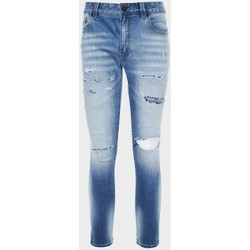 Clothing Men Straight jeans Amicci  Blue