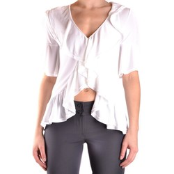 Clothing Women Tops / Blouses Dondup Women's Top In White 1