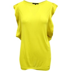 Clothing Women Tops / Blouses Gucci Yellow Top With Silk Sle 4