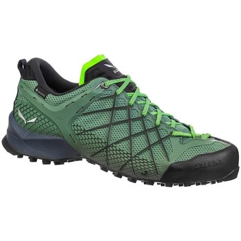 Shoes Men Derby Shoes & Brogues Salewa MS Wildfire Gtx Green