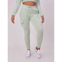 Clothing Women Tracksuit bottoms Project X Paris Jogging femme gris clair
