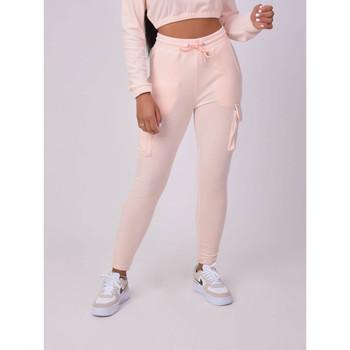 Clothing Women Tracksuit bottoms Project X Paris Jogging femme rose clair