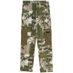Clothing Men Cargo trousers Sixth June Pantalon  Cargo Camouflage vert camouflage