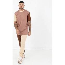 Clothing Men Short-sleeved t-shirts Sixth June T-shirt  Tricolor Regular beige