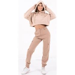 Clothing Women Sweaters Sixth June Sweatshirt Crop Top femme  Acid Printed beige