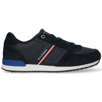 Shoes Men Low top trainers Tommy Hilfiger Iconic Runner Black