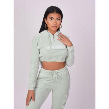 Clothing Women Sweaters Project X Paris Sweat à capuche gris clair
