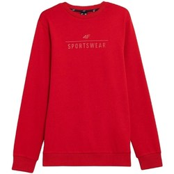 Clothing Men Sweaters 4F BLM350 Red
