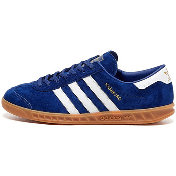 Shoes Men Low top trainers adidas Originals Hamburg Trainers - Victory Blue