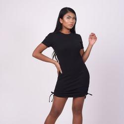 Clothing Women Short Dresses Project X Paris Robe femme noir