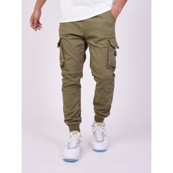 Clothing Men Cargo trousers Project X Paris Jeans Style Cargo Projet X Paris khaki