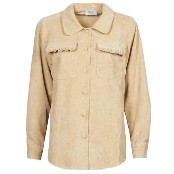 Clothing Women Jackets / Blazers Betty London PATISSONE Beige