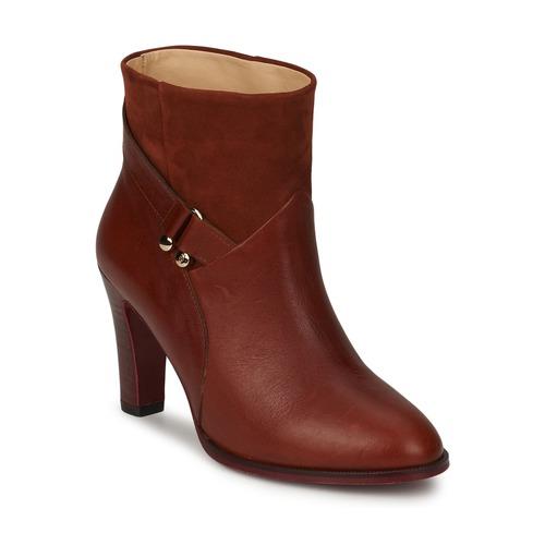 Shoes Women Ankle boots MySuelly CLAUDE Havane