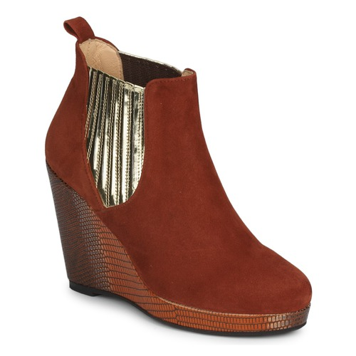 Shoes Women Shoe boots MySuelly LEON Rust / Gold
