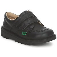 Shoes Children Low top trainers Kickers KICK LO VELCRO Black