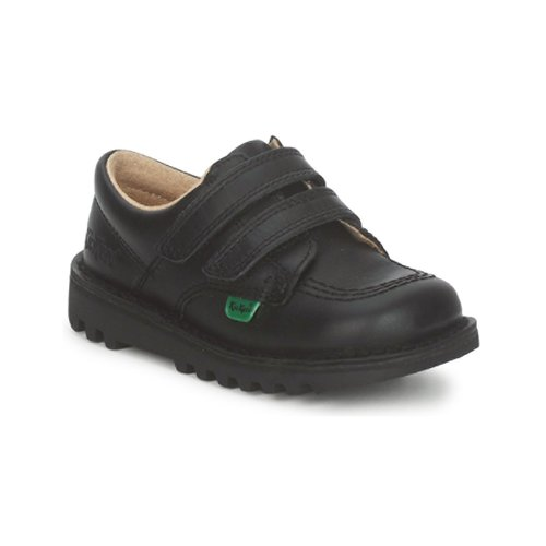 Shoes Children Low top trainers Kickers KICK LO VELCRO Black