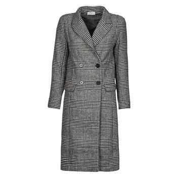 Clothing Women Coats Betty London PIXIE Black / Grey
