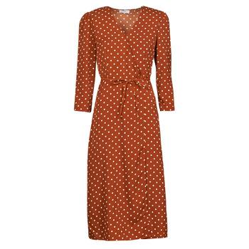 Clothing Women Long Dresses Betty London PAXONE Rust