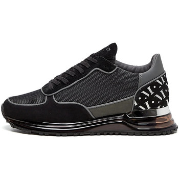 Shoes Men Low top trainers Mallet Popham Trainers - Gas Grey Mesh