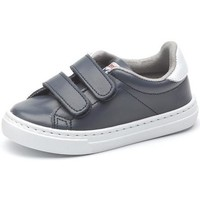 Shoes Girl Low top trainers Cienta Chaussures fille  Deportivo Scractch Piel bleu marine