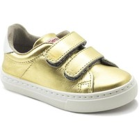 Shoes Girl Low top trainers Cienta Chaussures fille  Deportivo Scractch Laminado doré