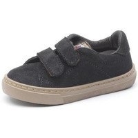 Shoes Girl Trainers Cienta Chaussures fille  Deportivo Velcro On Suede noir
