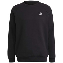 Clothing Men Sweaters adidas Originals Adicolor Essentials Trefoil Crewneck Sweatshirt Black