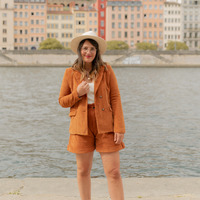 Clothing Women Jackets / Blazers Céleste SASSAFRAS Camel