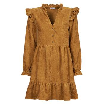 Clothing Women Short Dresses Betty London PINEA Camel