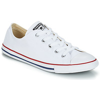 Shoes Low top trainers Converse ALL STAR DAINTY CANVAS OX White / Red