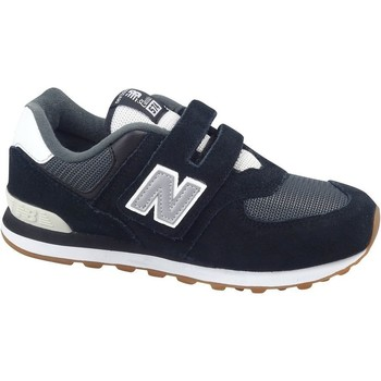 Shoes Children Low top trainers New Balance 574 White, Black, Grey