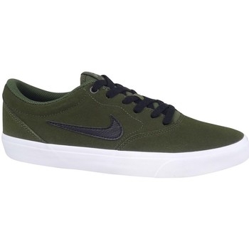 Shoes Men Low top trainers Nike SB Charge Suede Green