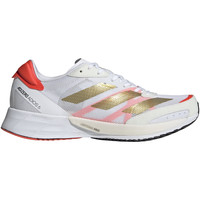 Shoes Women Running shoes adidas Originals Chaussures de running femme  Adizero Adios 6 Tokyo blanc/or métallisé/rouge solaire