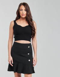 Clothing Women Tops / Blouses Moony Mood  Black