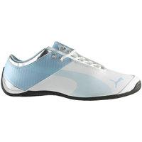 Shoes Children Low top trainers Puma Future Cat M1 JR White, Light blue