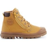 Shoes Children Hi top trainers Palladium Pampa HI Cuff WP Orange