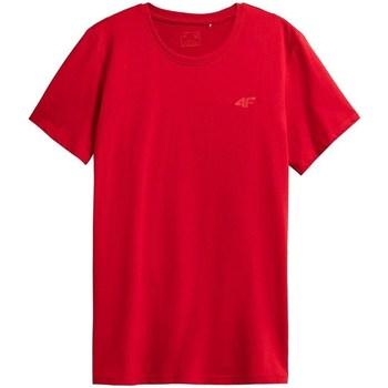 Clothing Men Short-sleeved t-shirts 4F TSM352 Red