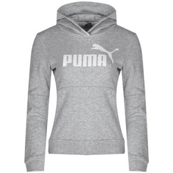 Clothing Women Sweaters Puma Hoody Grey