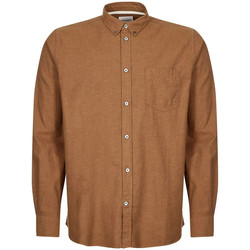Clothing Men Long-sleeved shirts Norse Projects Anton Brushed Flannel Shirt - Taupe
