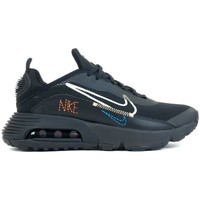 Shoes Children Low top trainers Nike Air Max 2090 GS Black