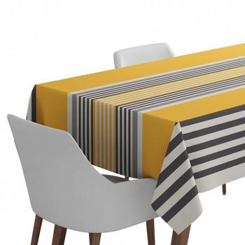 Home Tablecloth Maison Jean-Vier Ainhoa Gold