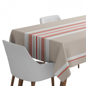 Home Tablecloth Maison Jean-Vier Donibane Beige