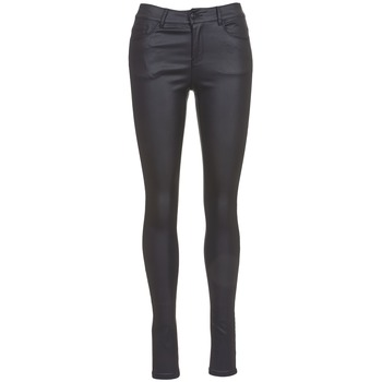 Clothing Women slim jeans Vero Moda SEVEN Black