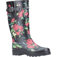 Shoes Women Wellington boots Cotswold Blossom Red